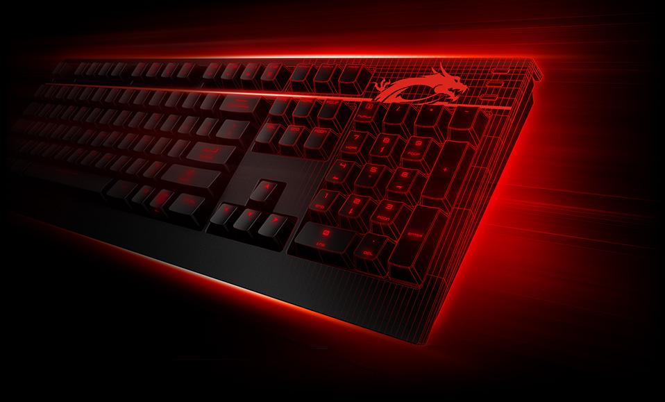 how to make keyboard glow msi laptop
